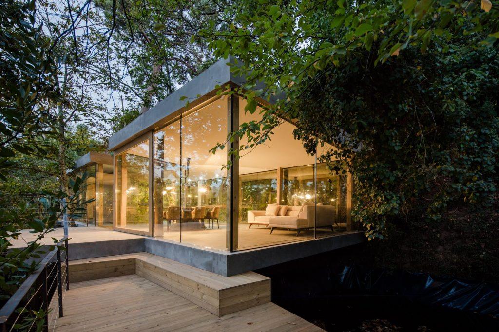 dinding kaca untuk rumah