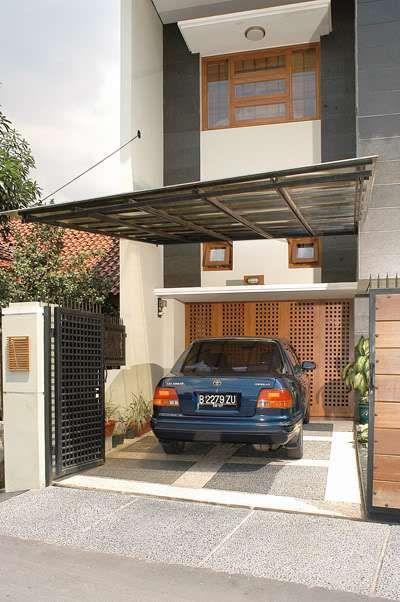 Kanopi garasi rumah minimalis